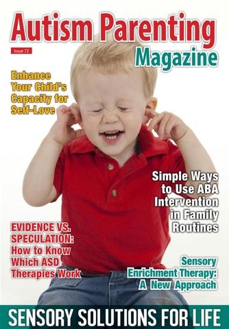 Screenshot of Autism Parenting Magazine