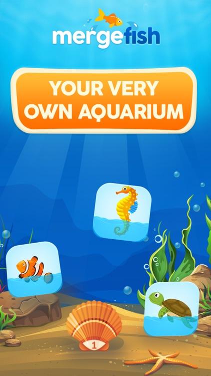 Merge Fish : Aquarium Stories screenshot-3
