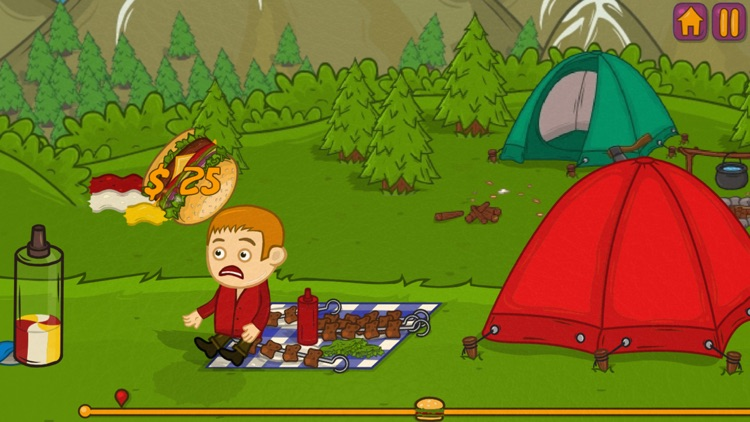 Mad Burger: Launcher Game