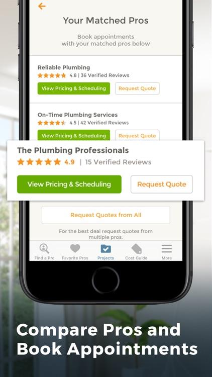 HomeAdvisor: Find a Contractor screenshot-4