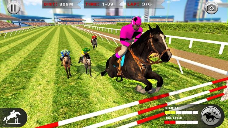 Horse Racing: 3D Riding Games screenshot-6