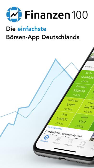 Finanzen100 - Börse & Aktien screenshot one