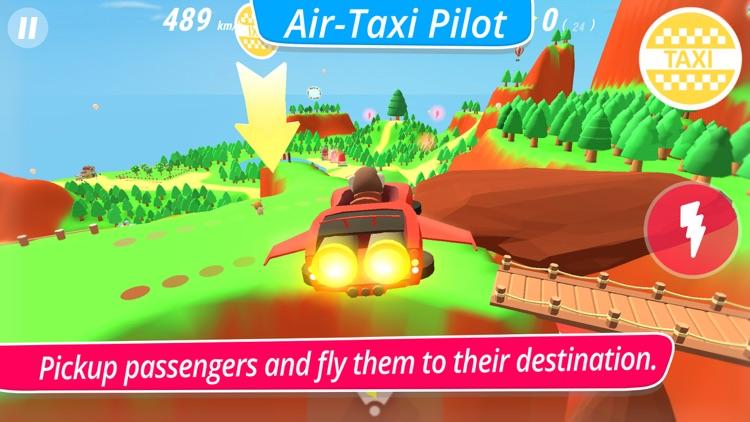 McPanda: Super Pilot Kids Game screenshot-5
