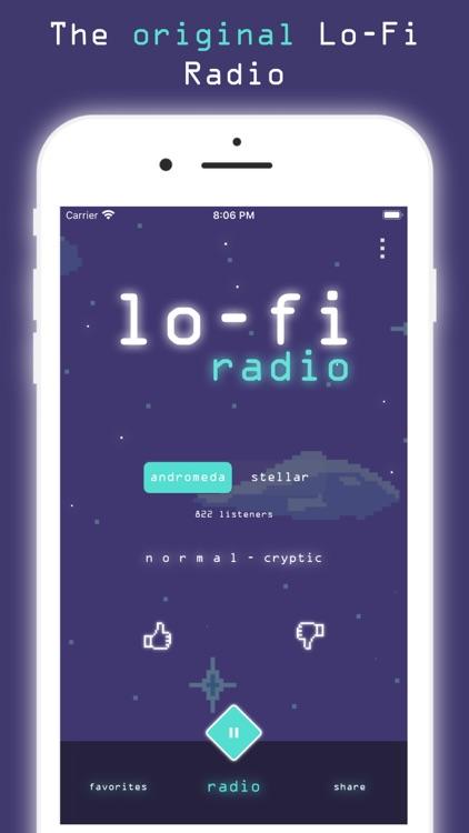 Lo-Fi Radio: Work,Study,Chill screenshot-0