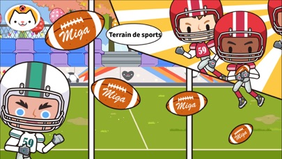 Screenshot for Miga Ma ville:l'école in France App Store