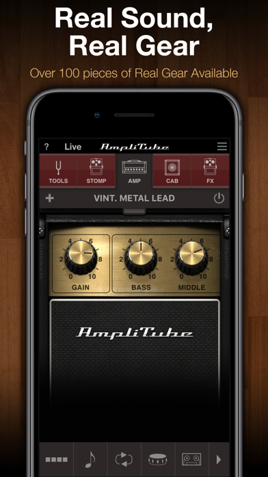 Screenshot AmpliTube