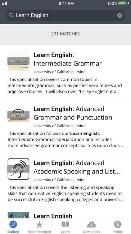 Coursera: Learn new skills screenshot-3