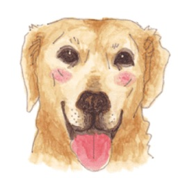 Watercolor Labrador Retriever