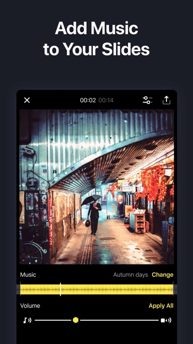 SlideLab - Add Music to Photos Screenshot