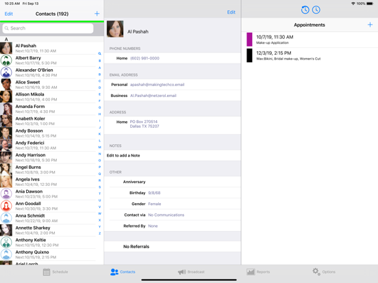 MyChair screenshot