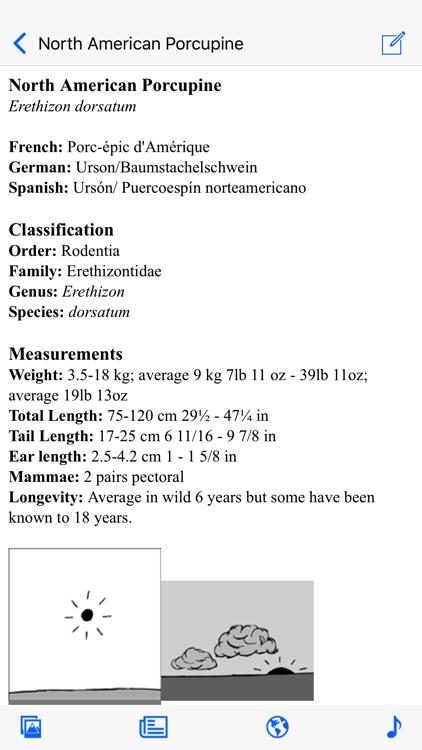 Stuarts North American Mammals screenshot-3