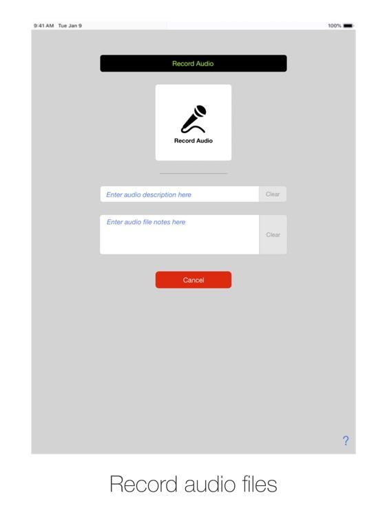 AV Shoebox for iPad