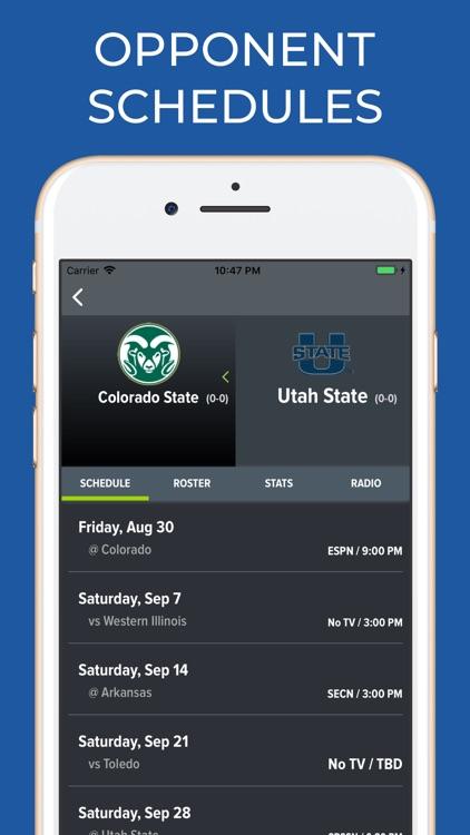 Utah State Football Schedules screenshot-5