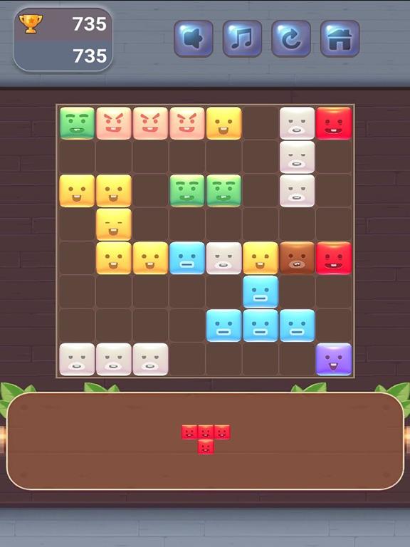 Block Puzzle - Cute Emoji screenshot 9