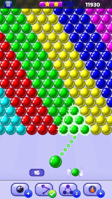 Screenshot of Bubble Shooter - Sparabolle8