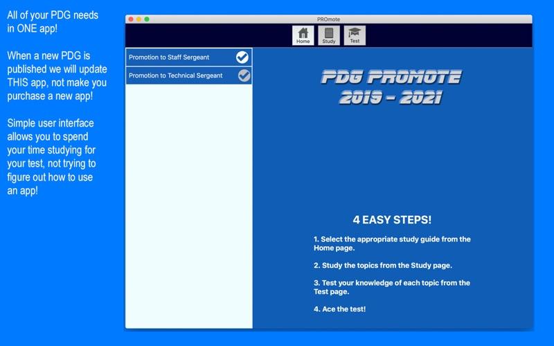 PDG PROmote screenshot 1