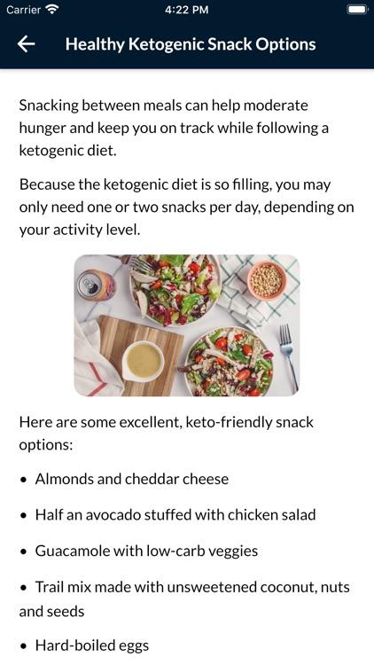 Keto Diet Plan For Weight Loss screenshot-3