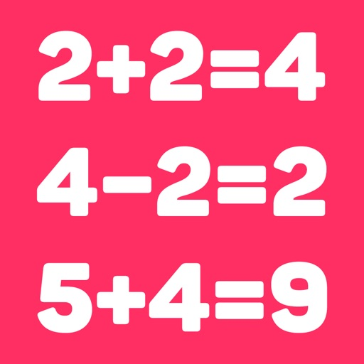 Basic math for kids: numbers app logo