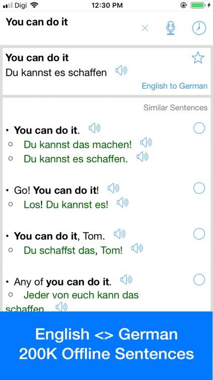 German Translator Offline