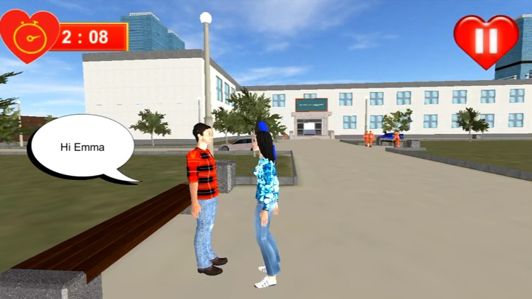 Virtual Romance Sim: Love City screenshot-5