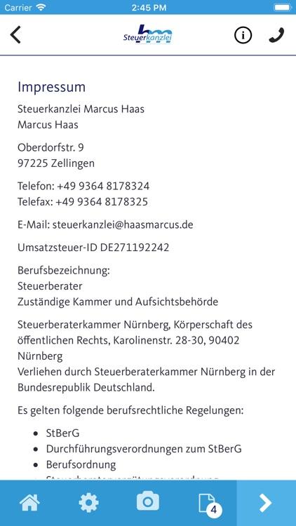 Steuerkanzlei Marcus Haas screenshot-4