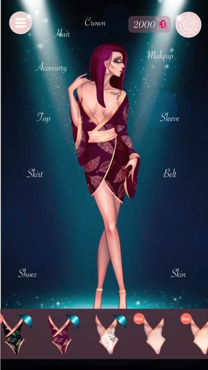 Fashion Girl Dress Up:LeilaAnn