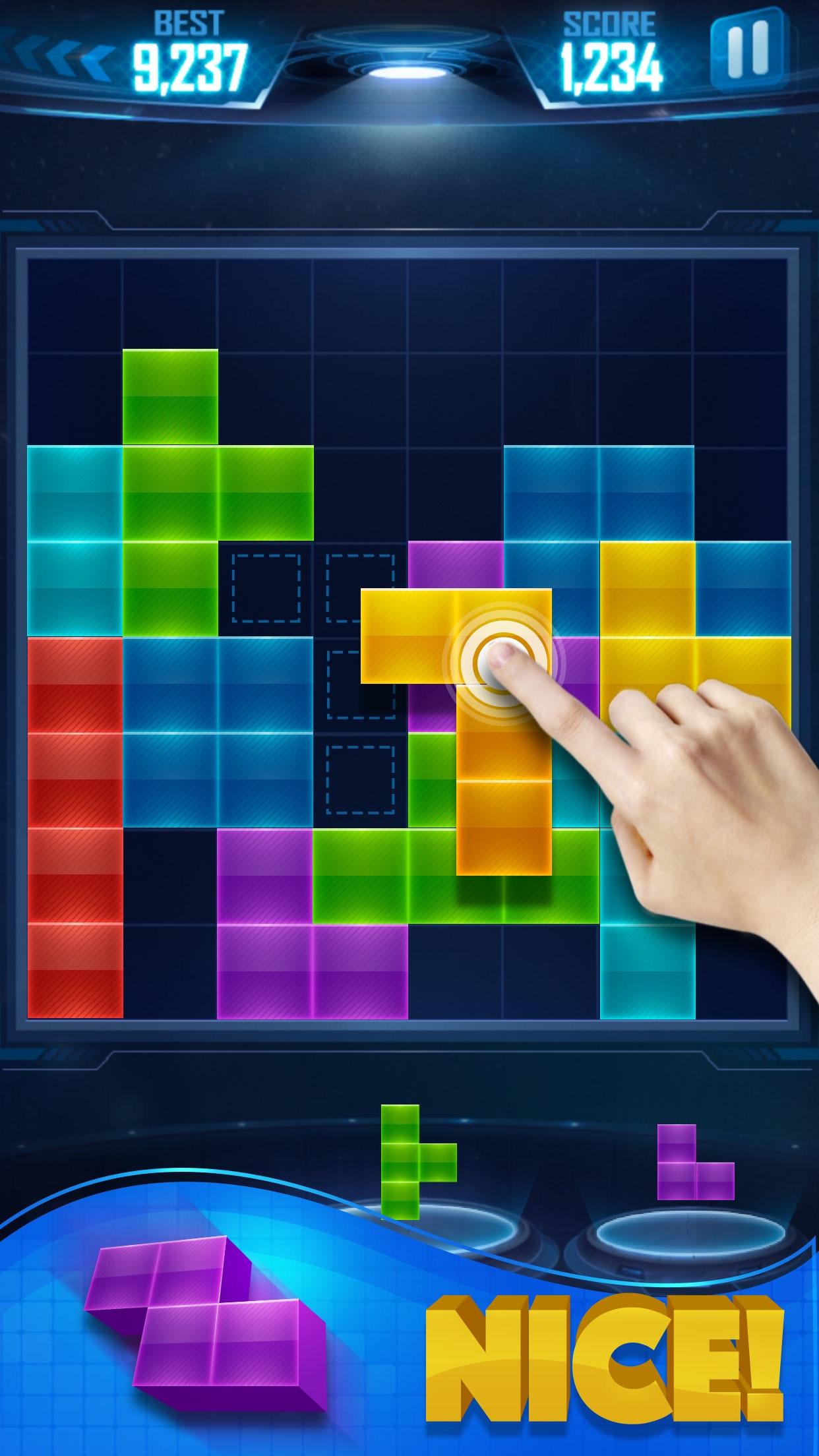 Puzzle Game Blast Screenshot