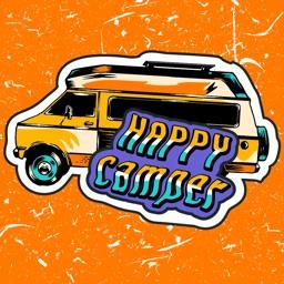 Happy Camper Doodle