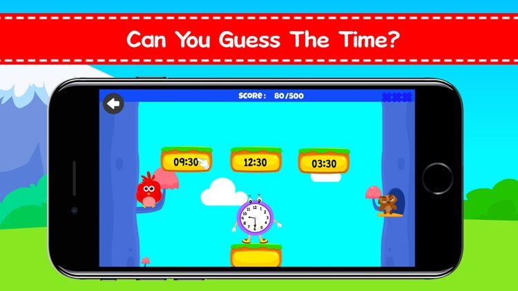 Telling Time Games For Kids screenshot-4