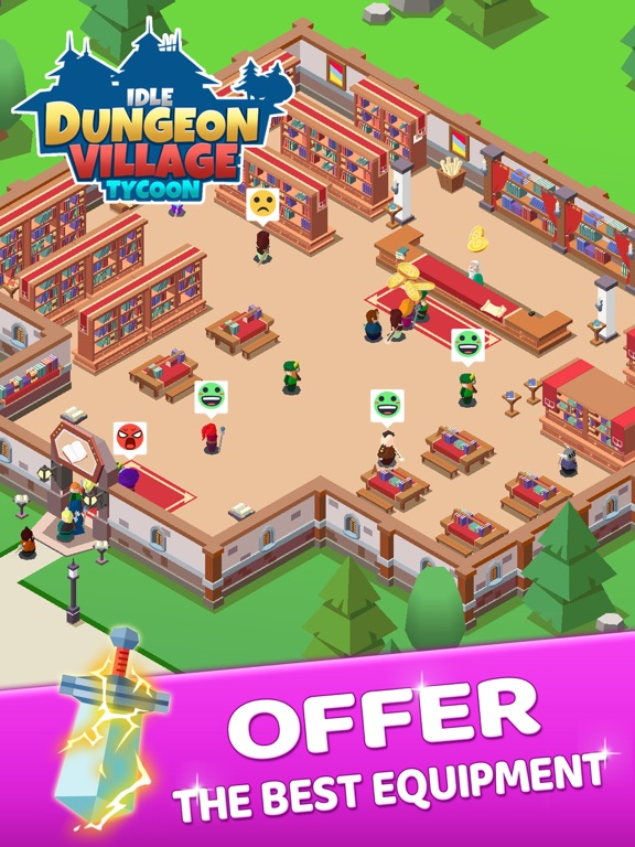 Idle Dungeon Village Tycoonのおすすめ画像5