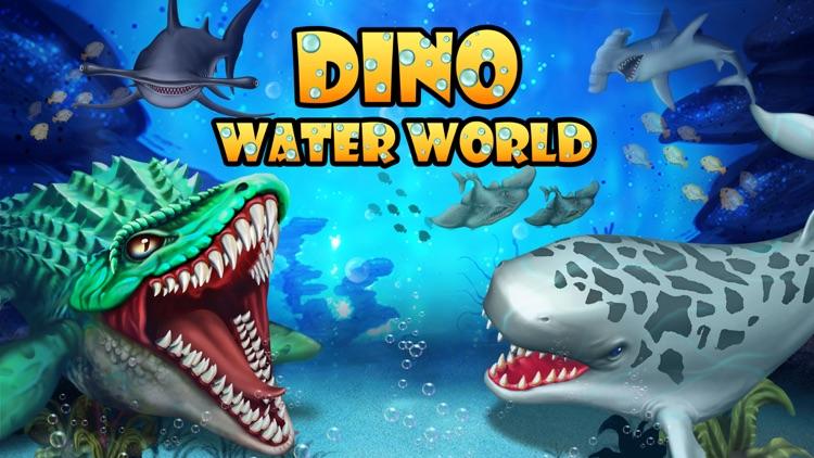 Dino Water World-Dinosaur game screenshot-4