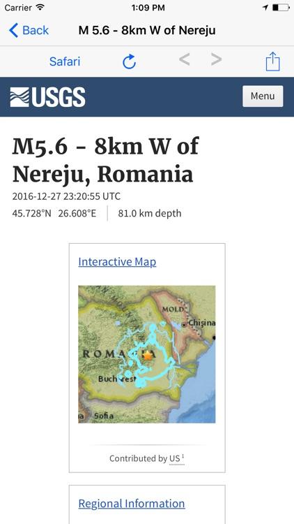 Earthquake M4.5+