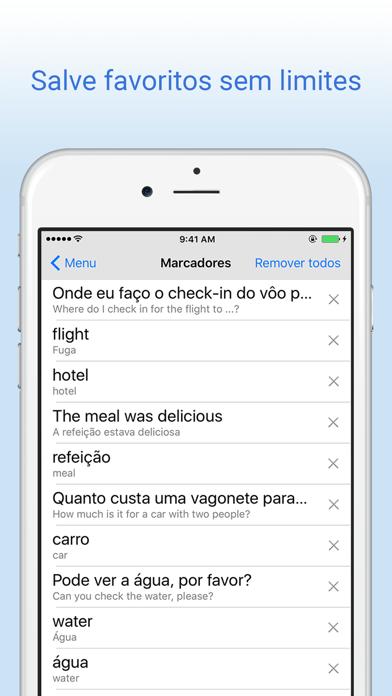 Dicionário Português Inglês screenshot four