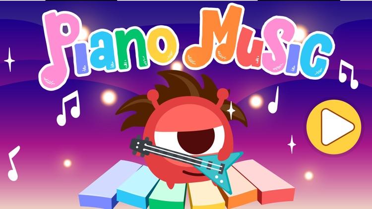 CandyBots Piano Kids Music Fun screenshot-5