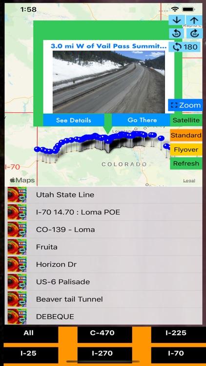 Traffic Cameras Colorado Pro