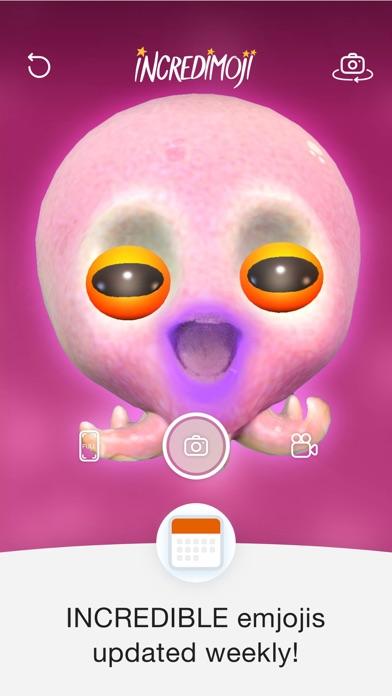 INCREDIMOJI | Camera Messenger Screenshot