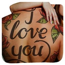 Tattoos Say It Best Sticker