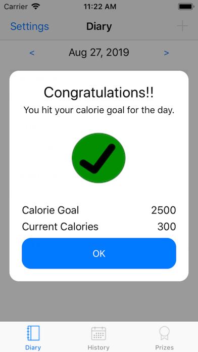 Diet Prize screenshot 2
