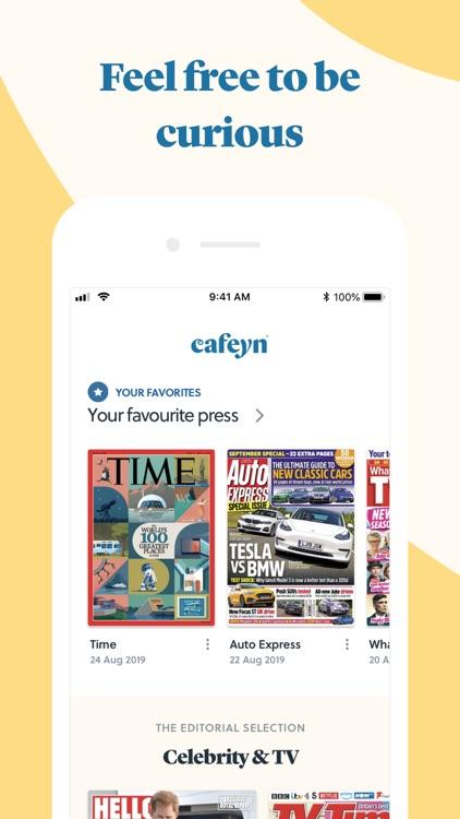 CAFEYN – News and magazine screenshot-0