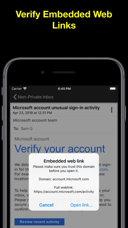 EPRIVO Private Email w/ Voice screenshot-8