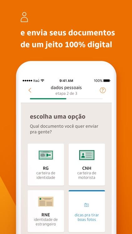 Itaú abreconta screenshot-5