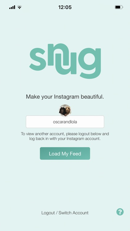 Snug: Preview Your Instagram