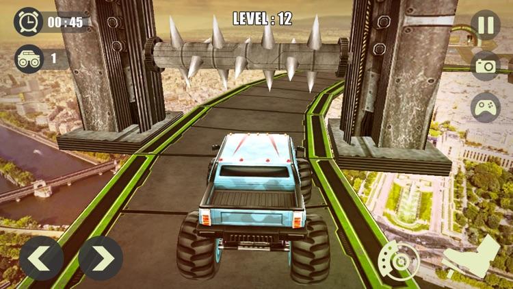 3D Monster Truck Derby Stunt screenshot-3