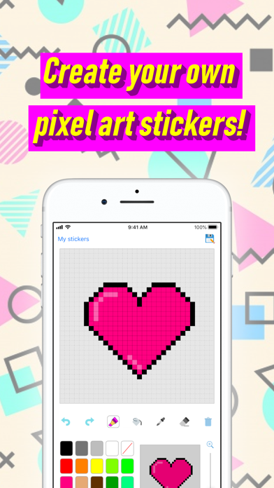 Download Stixel - Pixel Art Stickers for Android