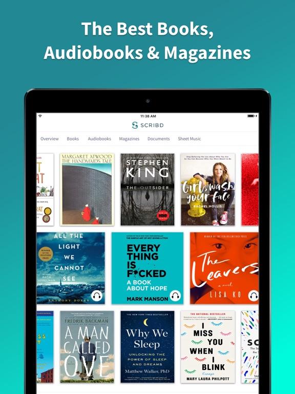 Scribd - Read Unlimited Books, eBooks, Documents, Magazines, Comics, Essays, Stories, Papers... screenshot