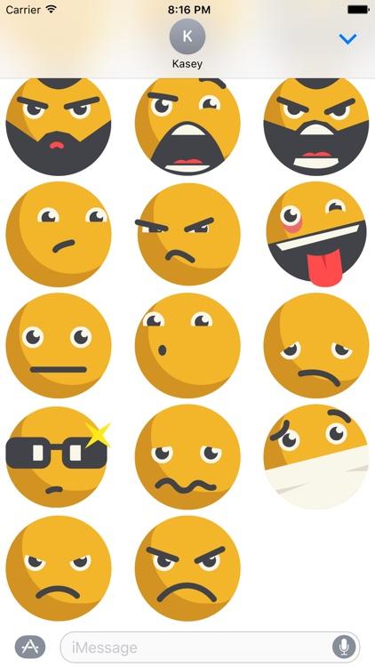 Emoji Sticker Pack screenshot-3