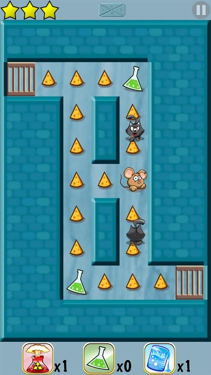 Mouse Maze - Top Brain Puzzle screenshot-0