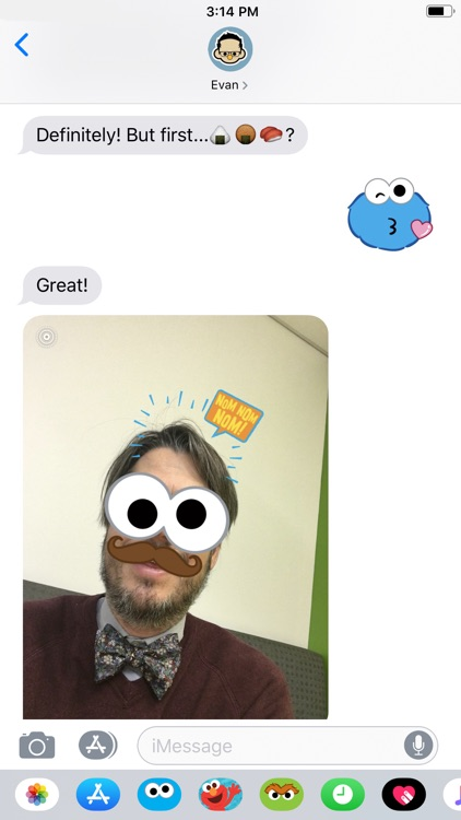 Cookie Monster Stickers screenshot-6
