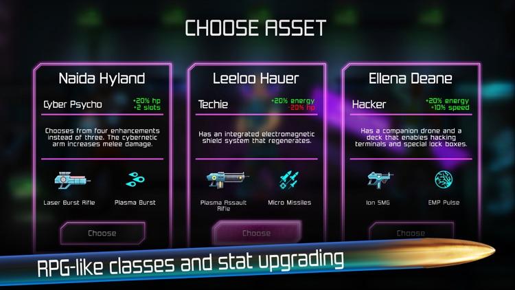 Neon Chrome screenshot-4