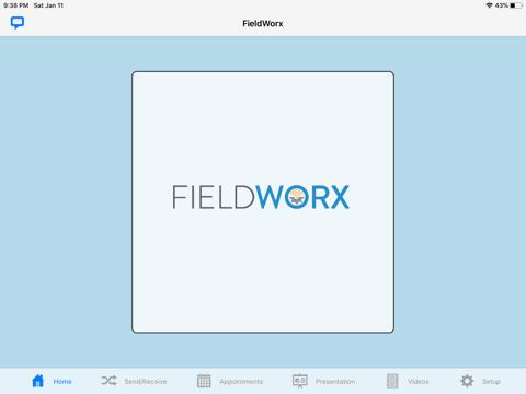 FieldWorx App - náhled